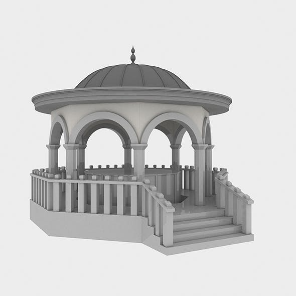 Mosque Fountain - 3DOcean Item for Sale