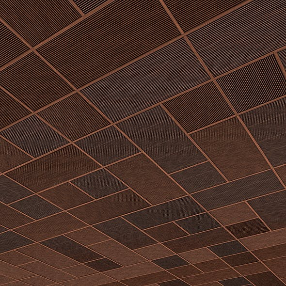 Wood Ceiling & Wall Panel - 3DOcean Item for Sale