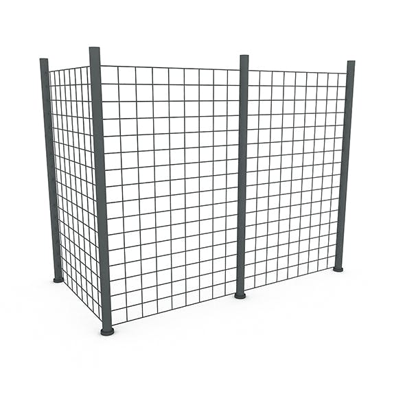 Wire Netting Model - 3DOcean Item for Sale