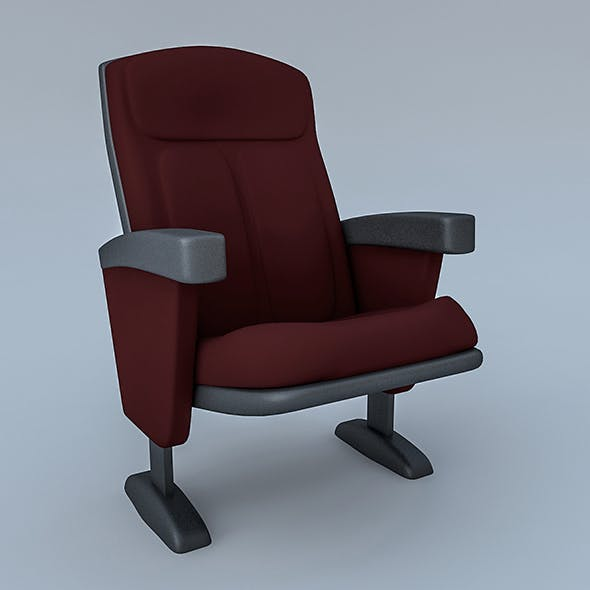 Cinema & Theater Chair - 3DOcean Item for Sale