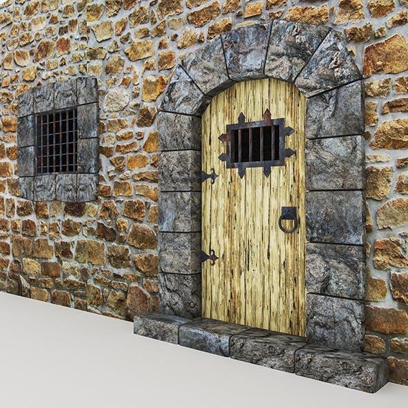 Medieval Castle Door - 3DOcean Item for Sale