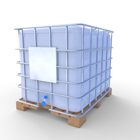 IBC Container 2 - 3DOcean Item for Sale