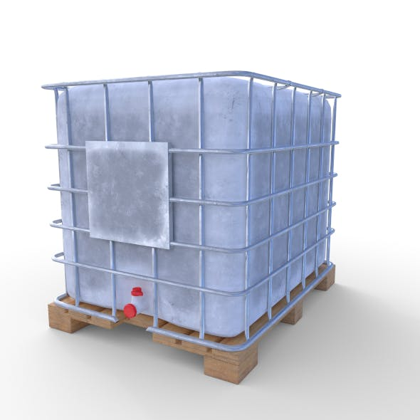 IBC Container 3 - 3DOcean Item for Sale