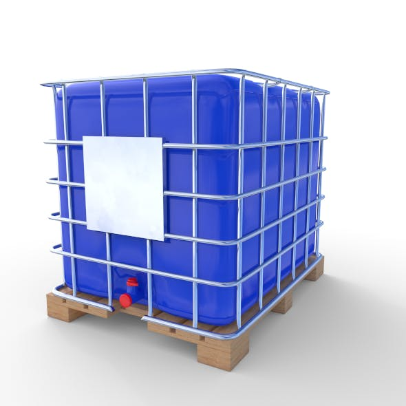 IBC Container 6 - 3DOcean Item for Sale