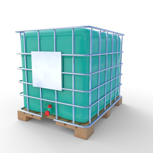 IBC Container 7 - 3DOcean Item for Sale