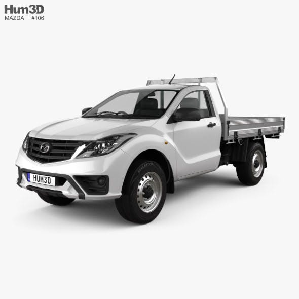 Mazda BT-50 Single Cab Alloy Tray 2018 - 3DOcean Item for Sale