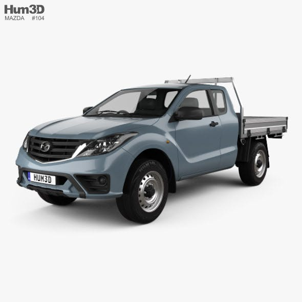 Mazda BT-50 Freestyle Cab Alloy Tray 2018 - 3DOcean Item for Sale