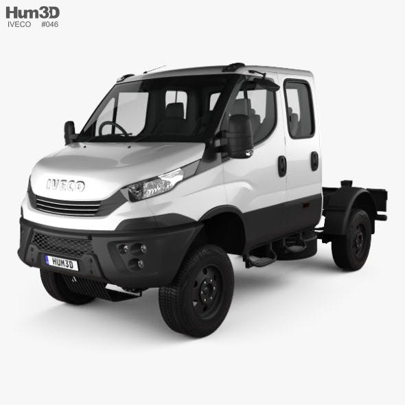 Iveco Daily 4x4 Dual Cab Chassis 2017