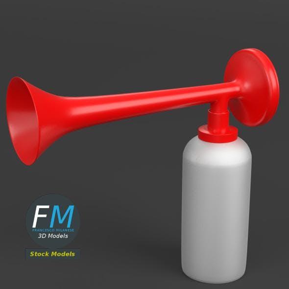 Air horn - 3DOcean Item for Sale