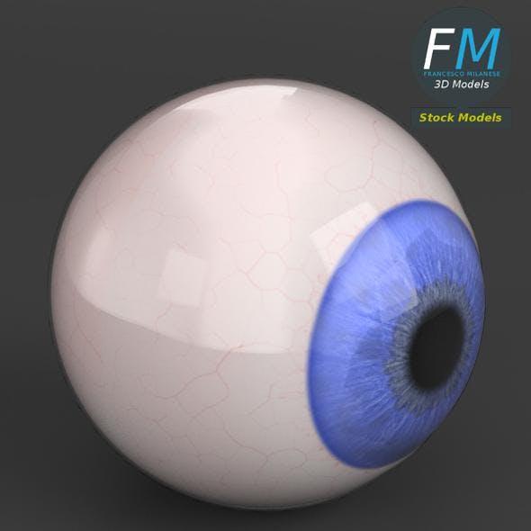 Human eyeball - 3DOcean Item for Sale
