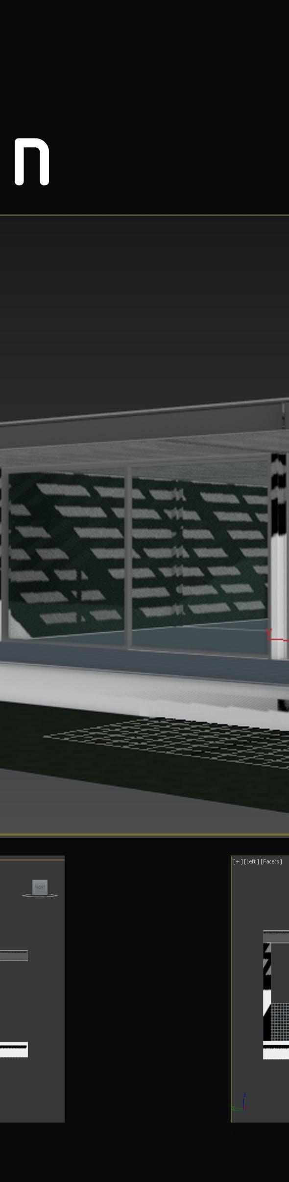 Pavilion - 3DOcean Item for Sale