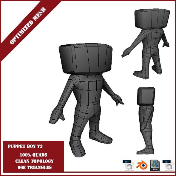Puppet Boy V3 - 3DOcean Item for Sale