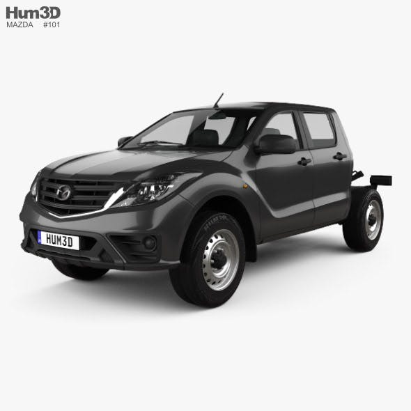 Mazda BT-50 Double Cab Chassis 2018