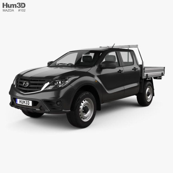 Mazda BT-50 Dual Cab Alloy Tray 2018 - 3DOcean Item for Sale