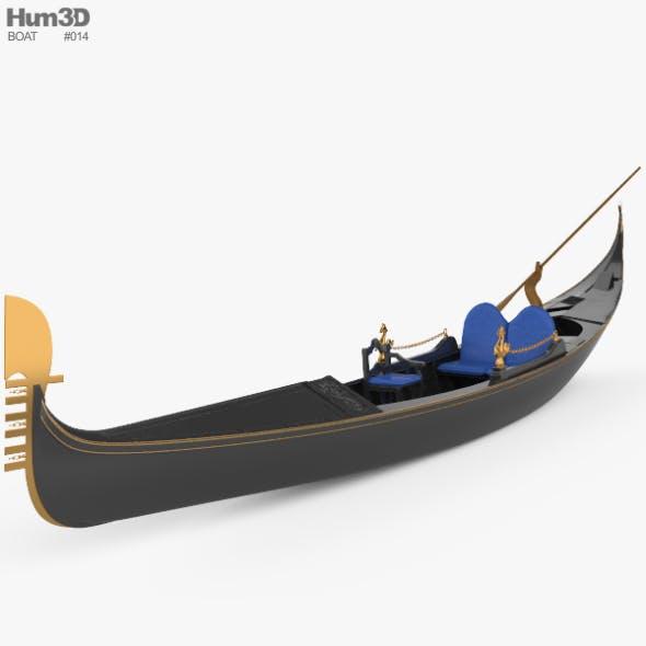 Gondola - 3DOcean Item for Sale