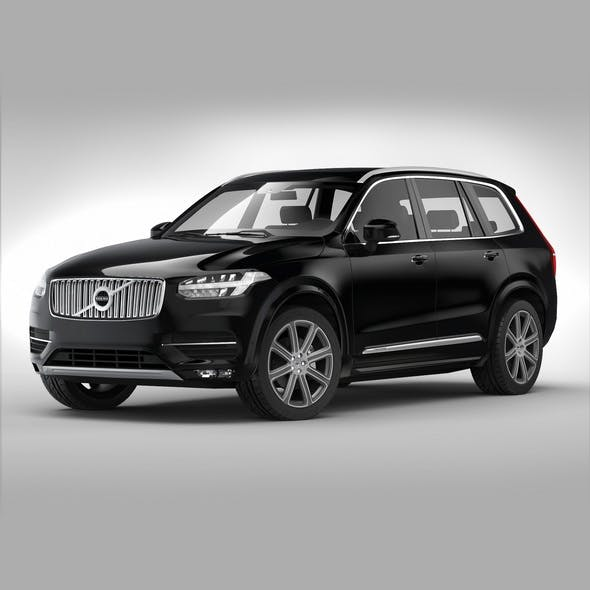 Volvo XC90 (2015) - 3DOcean Item for Sale