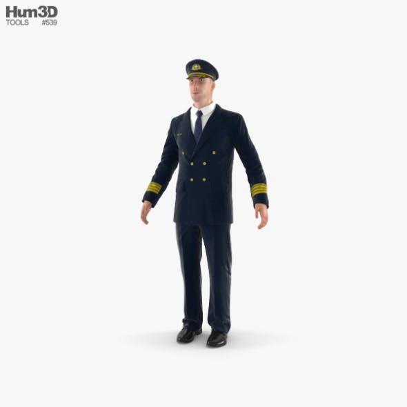 Airline Pilot - 3DOcean Item for Sale