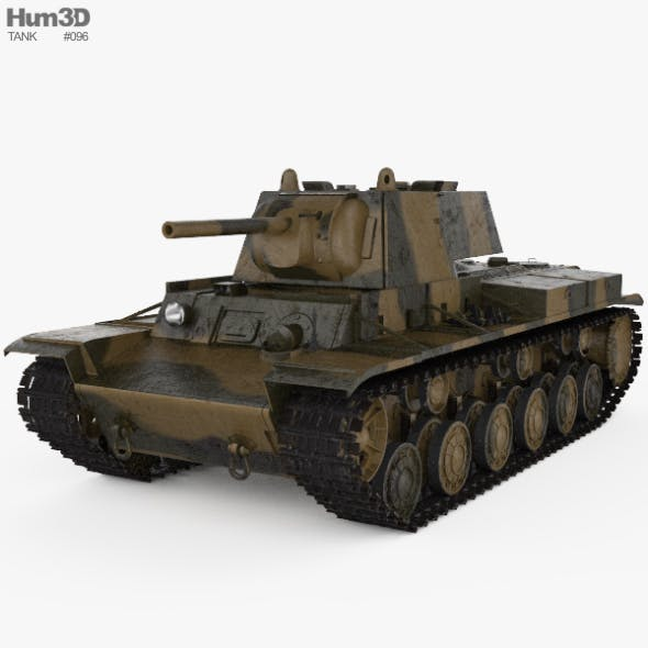 KV-1 - 3DOcean Item for Sale