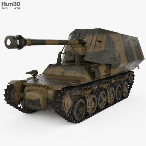 Marder I - 3DOcean Item for Sale