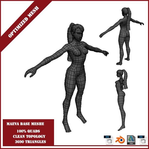 Maeva Base Mesh - 3DOcean Item for Sale