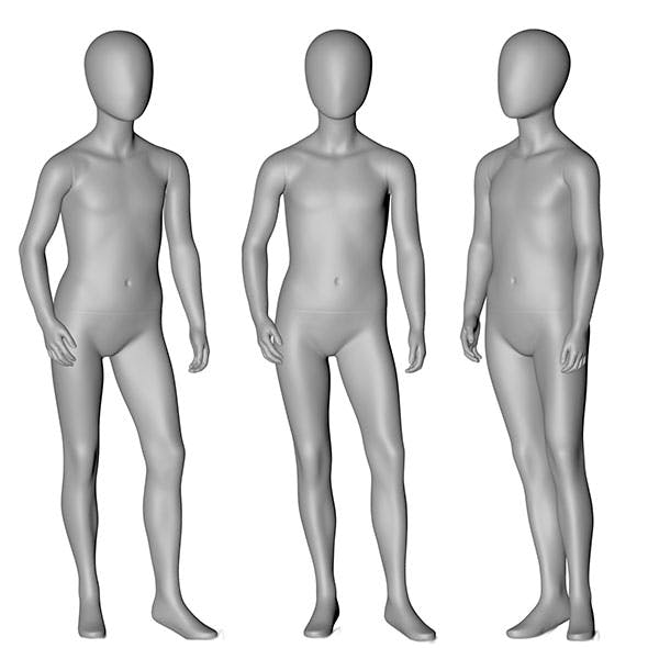 9-year Children Mannequin 3d printing model