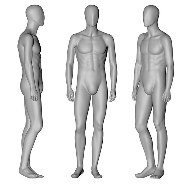 Male,Mannequin,3d,printing,model - 3DOcean Item for Sale