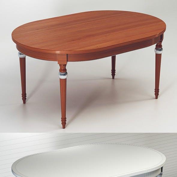 Quality 3dmodel of table Miu. Veneta Sedie