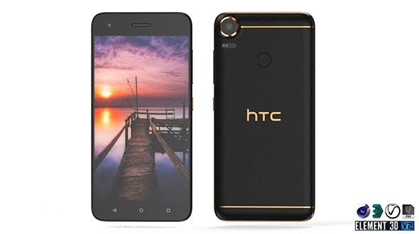 HTC Desire 10 Pro - Element 3D - 3DOcean Item for Sale