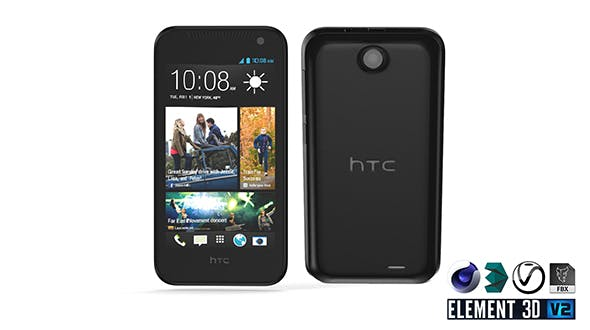 HTC Desire 310 - Element 3D - 3DOcean Item for Sale
