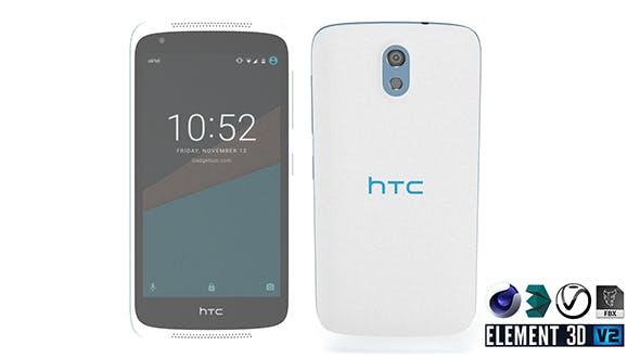 HTC Desire 526G - Element 3D - 3DOcean Item for Sale