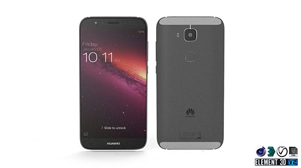 Huawei G8 - Element 3D - 3DOcean Item for Sale