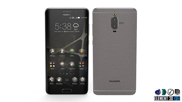 Huawei Mate 9 Pro - Element 3D - 3DOcean Item for Sale