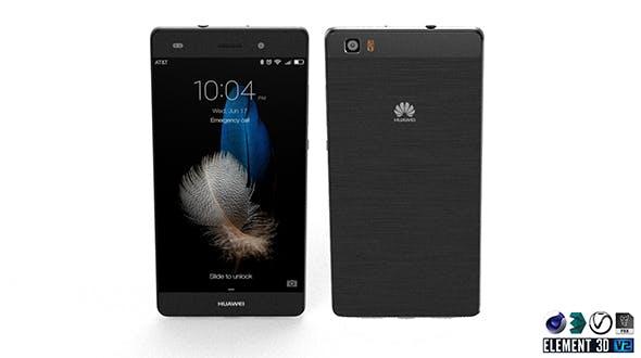 Huawei P8 Lite - Element 3D - 3DOcean Item for Sale