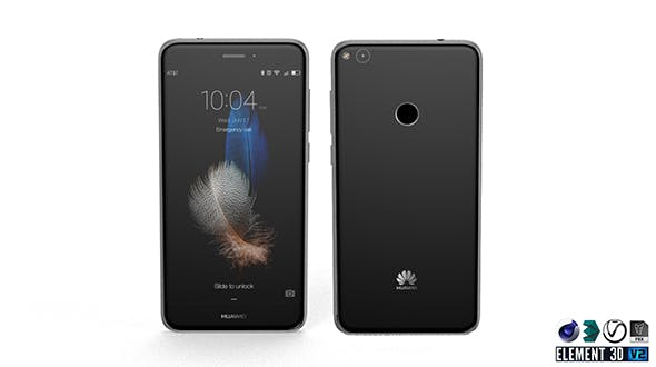 Huawei P8 Lite 2017 - Element 3D - 3DOcean Item for Sale