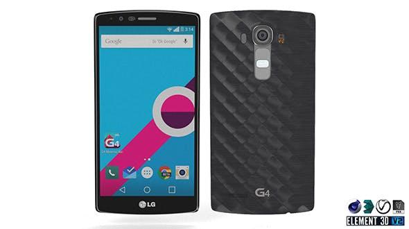 LG G4 Metallic - Element 3D - 3DOcean Item for Sale