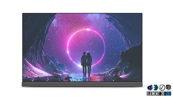 LG OLED TV Signature 65 - 3DOcean Item for Sale
