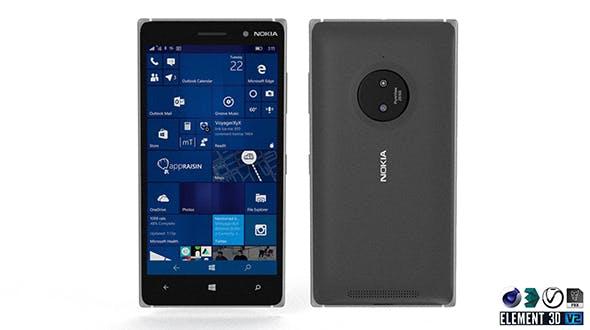 Nokia Lumia 830 - Element 3D - 3DOcean Item for Sale