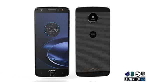 Moto Z Droid Edition - Element 3D - 3DOcean Item for Sale