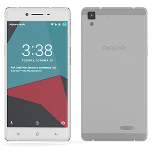 Oppo R7 - Element 3D