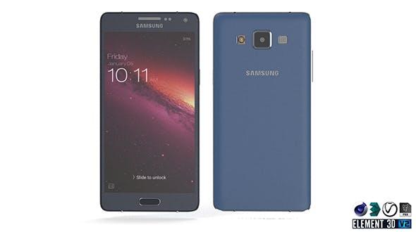 Samsung Galaxy A5 - Element 3D - 3DOcean Item for Sale