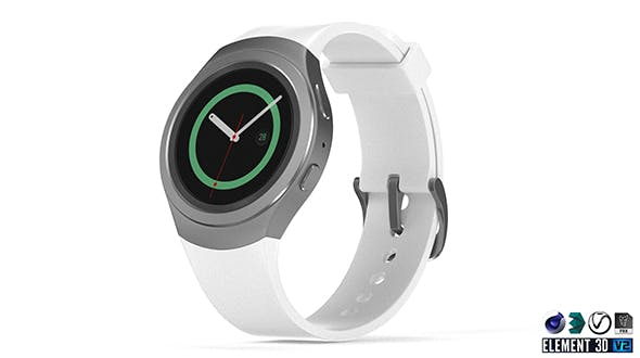 Samsung Gear S2 - 3DOcean Item for Sale