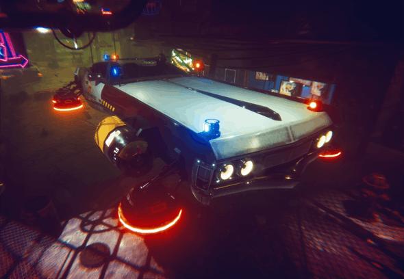 Cyber Car - 3DOcean Item for Sale