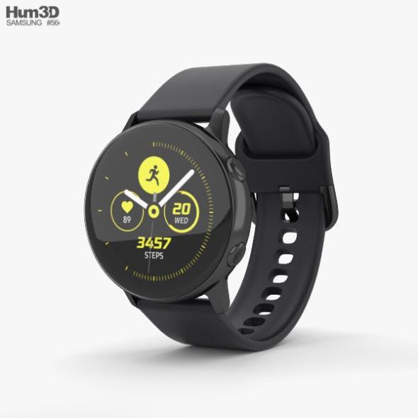 Samsung Galaxy Watch Active Black - 3DOcean Item for Sale