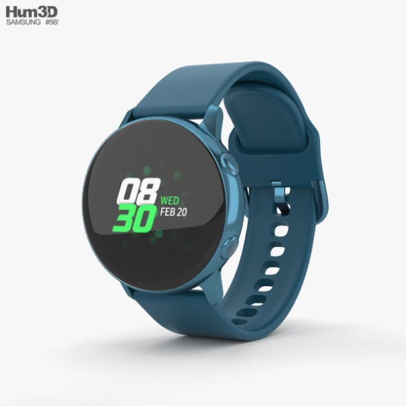Samsung Galaxy Watch Active Green - 3DOcean Item for Sale