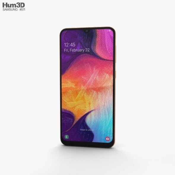 Samsung Galaxy A50 Coral - 3DOcean Item for Sale