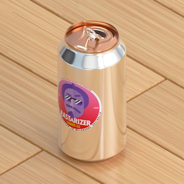 375ml Aluminium Can - 3DOcean Item for Sale