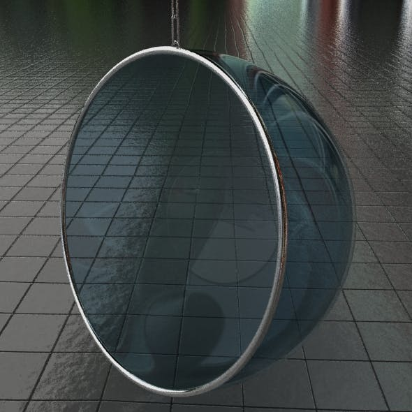 Glass Floating Chair
