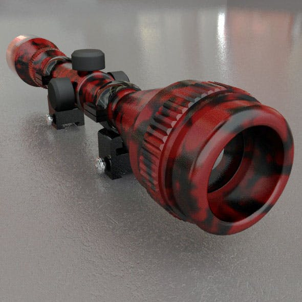 Red Tiger Sniper Scope