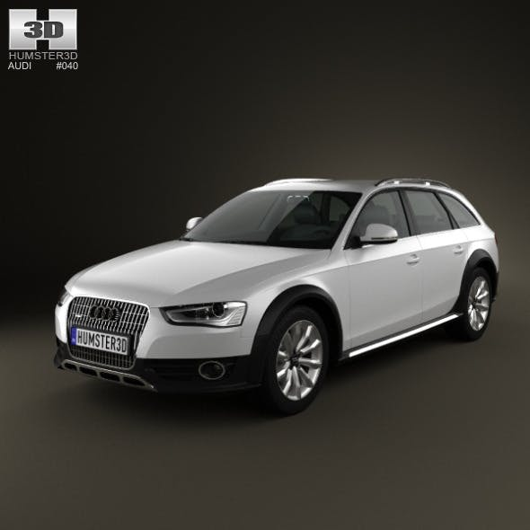 Audi A4 Allroad 2013 - 3DOcean Item for Sale