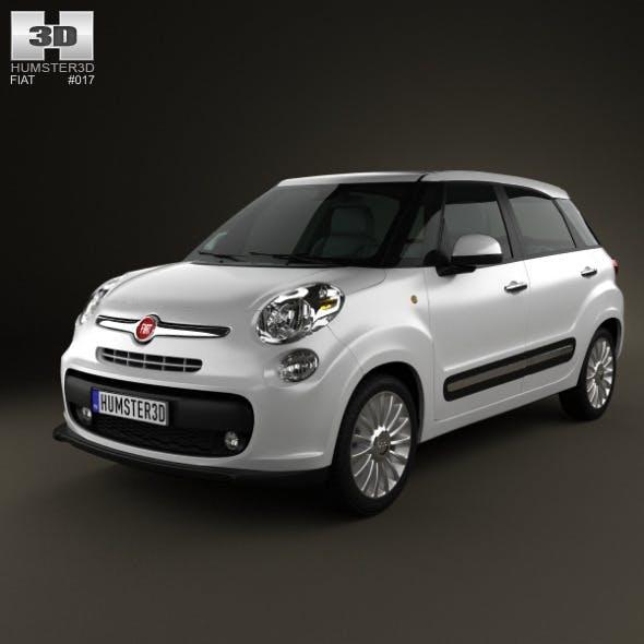 Fiat 500L 2013 - 3DOcean Item for Sale